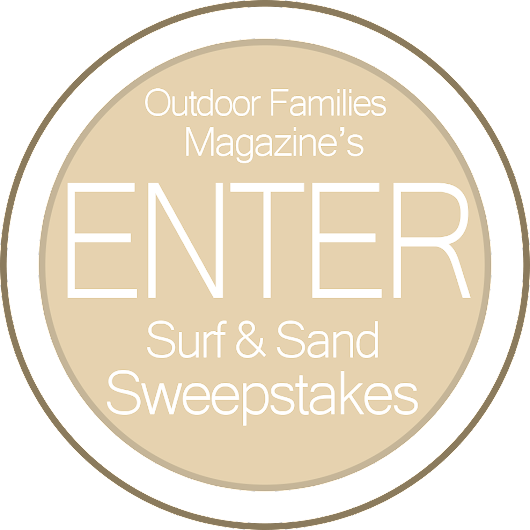 Outdoor Families | Sand and Surf Family Adventure Giveaway
