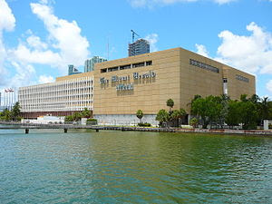 The Miami Herald and El Nuevo Herald building ...