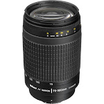 Nikon 70-300mm f/4-5.6G AF Zoom Nikkor Lens