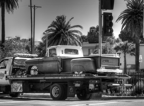 HDR - Lowrider truck