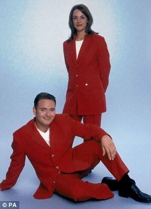 Os Redcoats uniformes como Bancos designe DBY Jeff em 1998