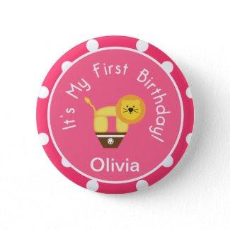 My First Birthday Button zazzle_button