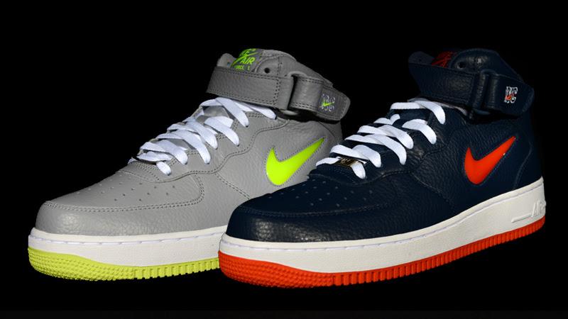 Nike Air Force 1 Mid Nyc Jewel Pack Foot Locker Blog