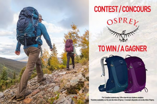 Win 2 Osprey Backpacks