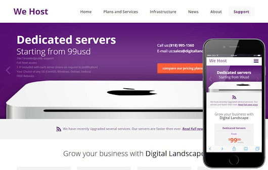 We Host a Web Hosting Flat Bootstrap Responsive Web Template by w3layouts
