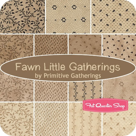 #Primitive Gatherings for Moda Fabrics; great blenders