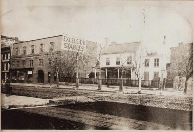 Casper Samler Homestead now the site of Gilsey House 1200 Broadway