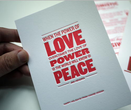 Love and power