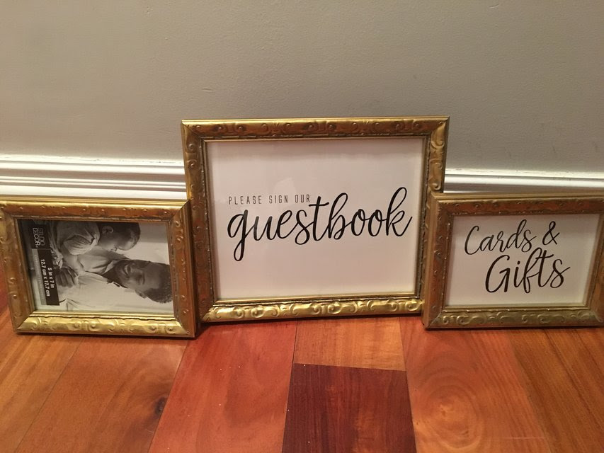 Gold Picture Frames1 8x10 2 5x7 Photo Video For Sale On