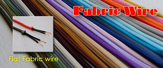 Flat Wire / Parallel Cord - Cloth Covered wire from Fabric Wire