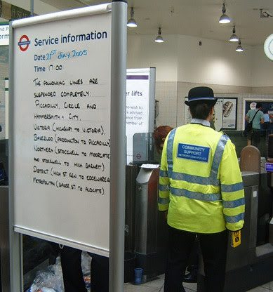 More travel updates at Hammersmith station