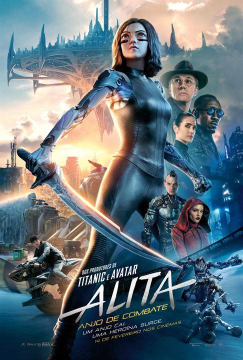 Alita: Anjo de Combate : Poster