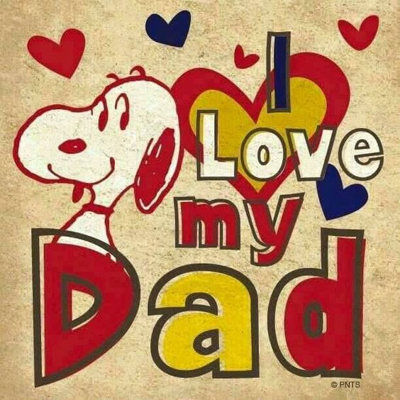 Snoopy I Love My Dad Quote Pictures Photos And Images For Facebook