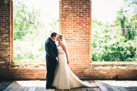 Wedding Photography in Greensboro, NC at Revolution Mills