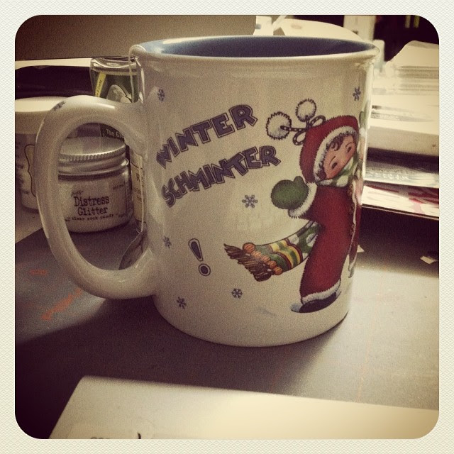 That is all I can even say.  There is another storm coming on today.  Ugh.  #winterschminter #mugoftheday