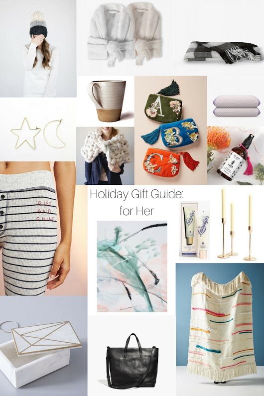 Holiday Gift Guide for Her - Damask & Dentelle blog