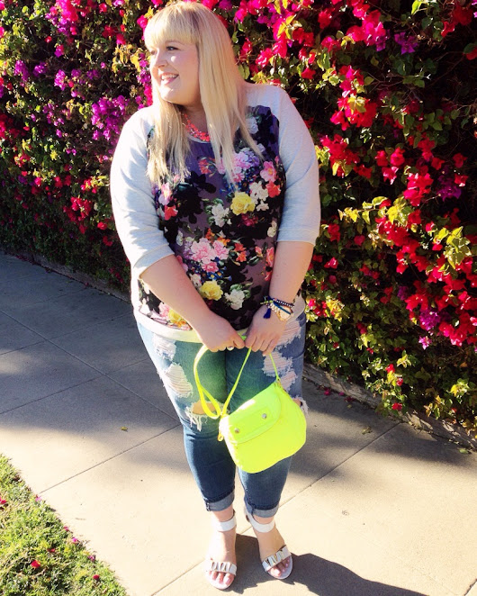{Floral Prints} Plus Size Spring Fashion Trends - Styled by Reah