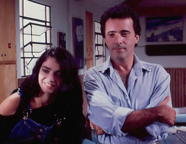 Paula (Cláudia Ohana) e Edu (Tony Ramos) (Foto: CEDOC/TV Globo)
