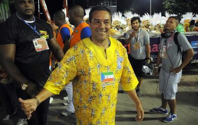 Luxemburgo, Sapucaí, carnaval, Beija-flor (Foto: André Durão / Globoesporte.com)