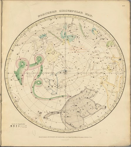 Northern Circumpolar Map (Burritt, 1833)