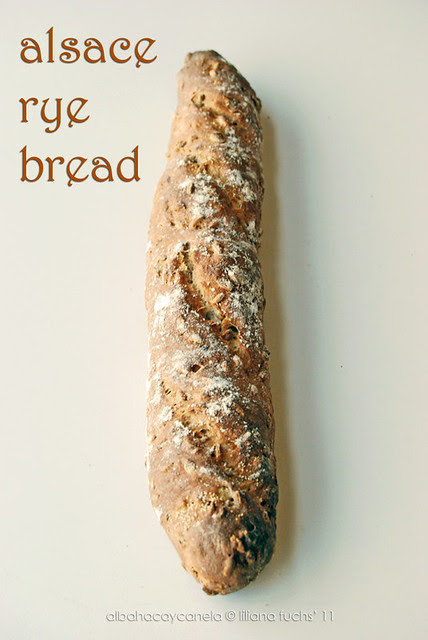 Alsace bread with rye
