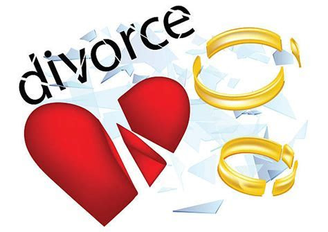 Ring clipart divorce   Pencil and in color ring clipart