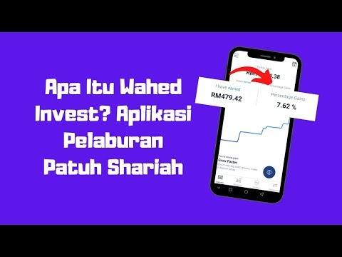 Apa Itu Wahed Invest - Aplikasi Pelaburan Patuh Syariah