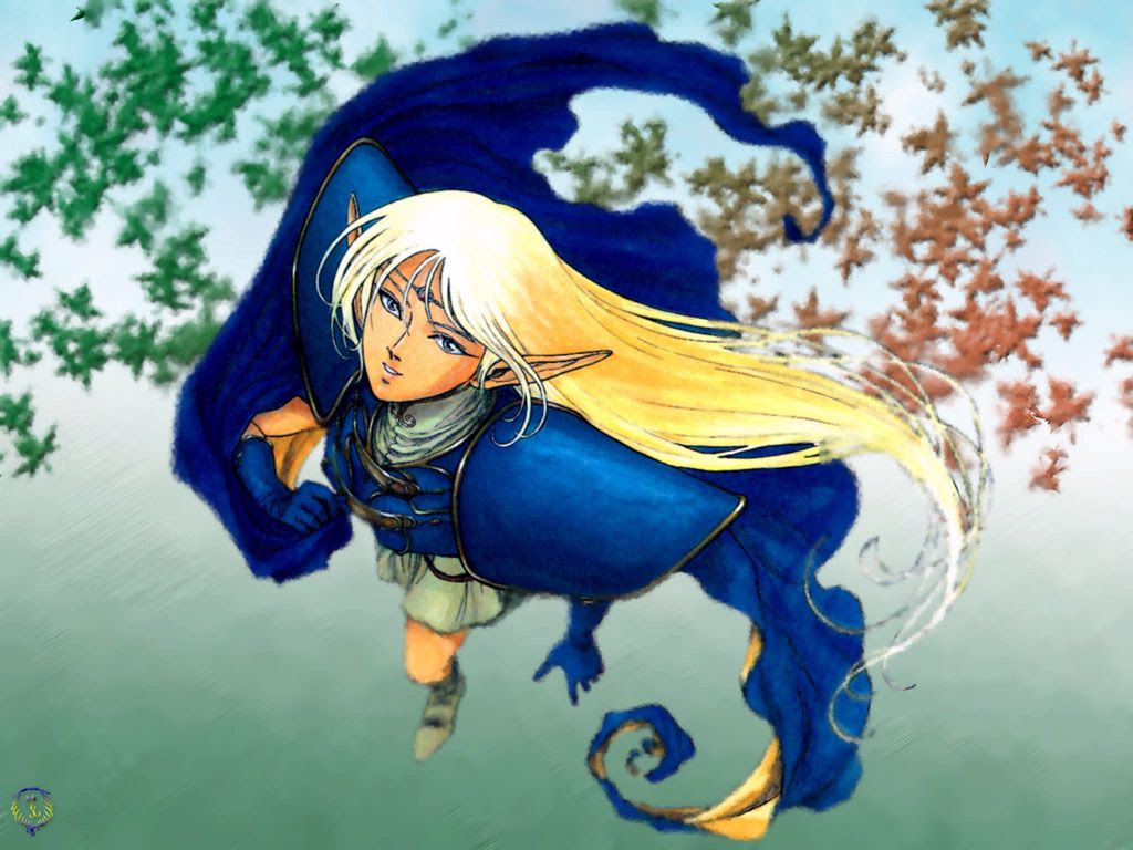 Absterblaster S Anime Meltdown Records Of Lodoss Wars Wallpapers