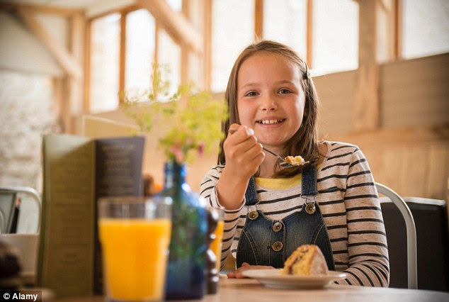 More choice: 60% of parents thought hotels should provide menus for children