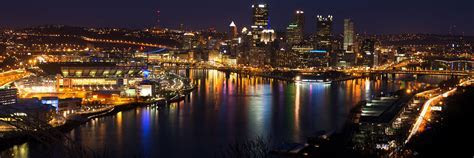 Pittsburgh Skyline Twitter Cover & Twitter Background