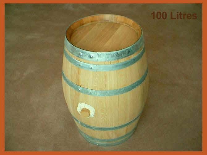 Small Barrels 50l100l American Or French Oak Made To Order Oakin