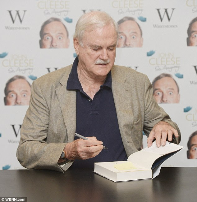 Professor Wilson writes: 'The greatest irony of all is that he criticises his mother for being tiresome, self-centred and neurotic. But that is exactly what Cleese himself has become'
