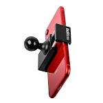 """TACKFORM Motorcycle Phone Mount - 1"""" Ball Connection - Heavy Duty Spring Loaded Phone Holder. Compatible with RAM and ARKON 1 Inch Ball System. NO"""