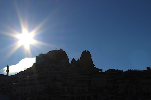 Cappadocia Photo of the Week September 4: Uchisar is a Star!