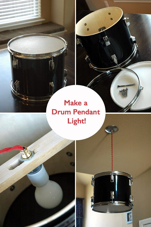 Drum Light | Upcycle That