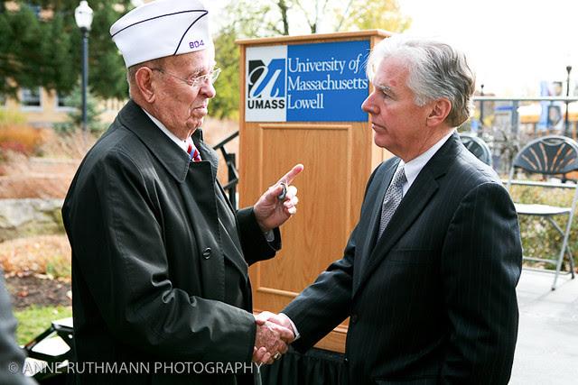 Honoring Veterans Flag Raising-22