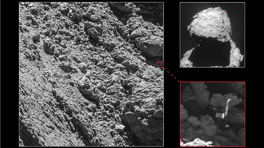 The European Space Agency has found its missing Philae comet lander