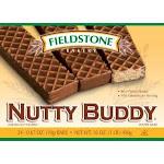 Fieldstone Nutty Buddy Wafer Bar 1Each (CASE OF 12 OF 24 PACK)