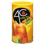 4c Iced Tea Mix, Lemon - 92.8 oz can