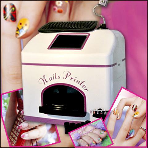 China Touch Screen Digital Nail Art Printing Machine ...