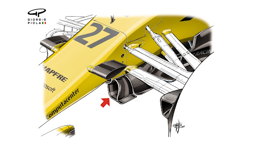 Tech insight - aero innovations from Renault & McLaren