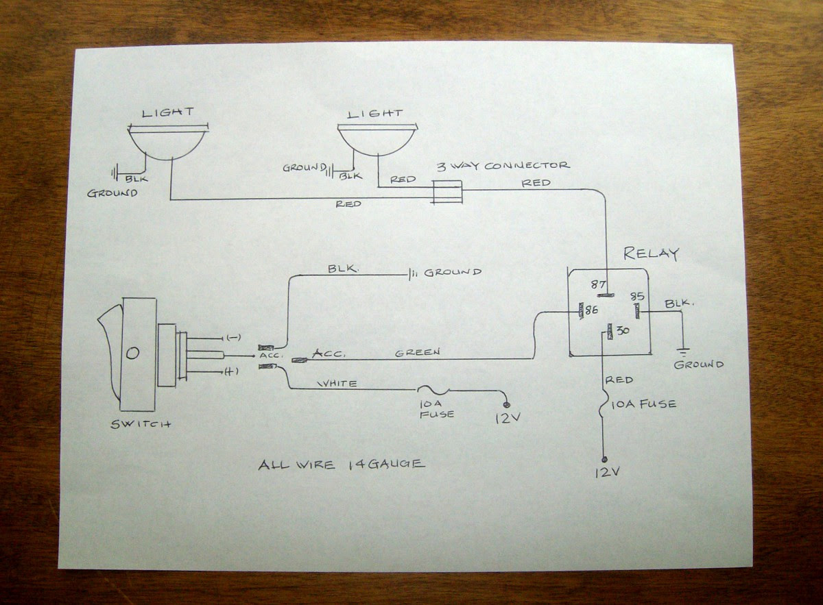 Cb74 Parallel Wiring 12v Led Lights Circuit Diagram Wiring Resources