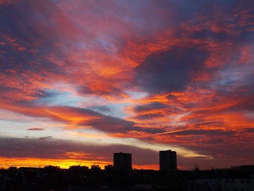 Cornhill Terrace sunrise, Edinburgh by Niall Corbet