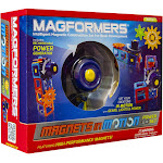 Magformers Magnets in Motion 22-Piece Power Building Set