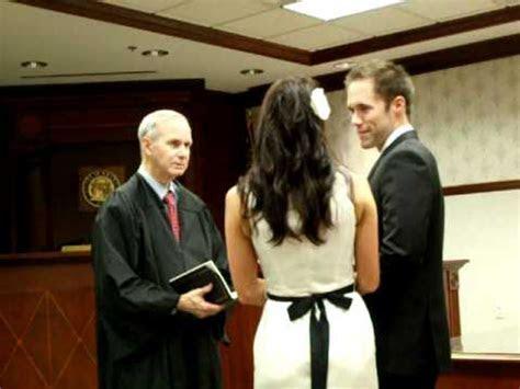 Jack and Jenna's courthouse wedding ceremony   YouTube