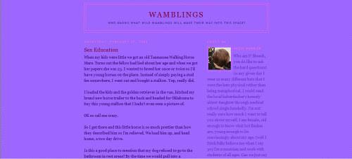 Wamblings