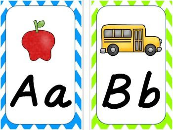 Alphabet Cards (D