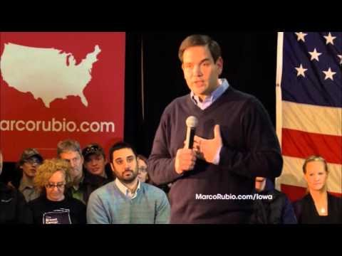 Town Hall   Marco Rubio's 30 minute TV ad is out in Iowa