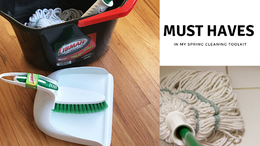 Must-Haves in my Spring Cleaning Toolkit - Being Tazim