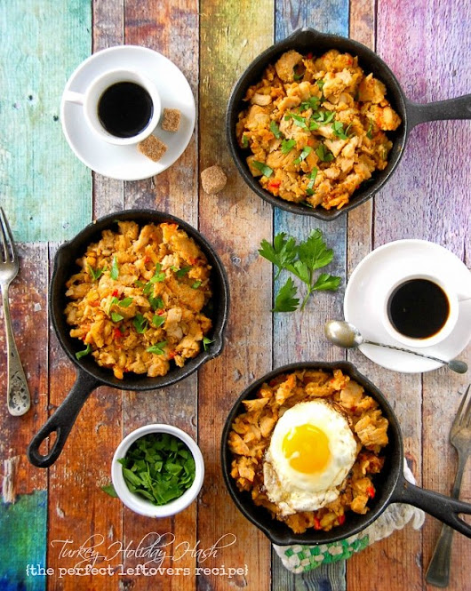 Turkey Holiday Hash {the Perfect Holiday Leftovers Recipe}